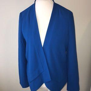 The Limited size Medium royal blue blazer EUC